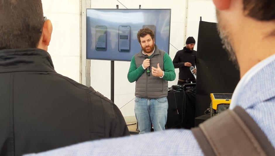 Santiago Bernal, director de innovación de Sembralia